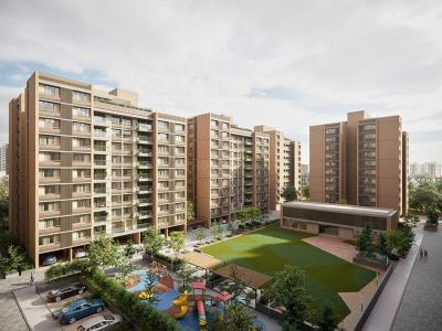 Gallery Cover Image of 1050 Sq.ft 2 BHK Apartment for buy in Ghuma for 3500000