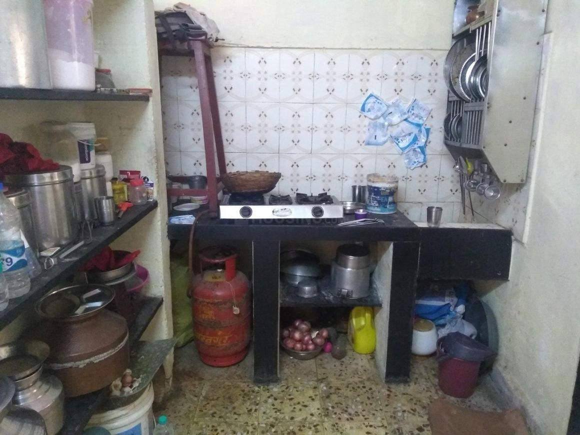 Kitchen Image of 250 Sq.ft 1 RK Independent House for rent in Kalyan East for 5000