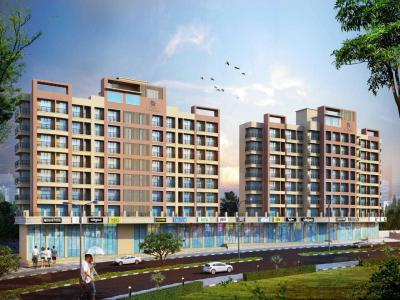 Gallery Cover Image of 406 Sq.ft 1 BHK Apartment for buy in Thane West for 4981000