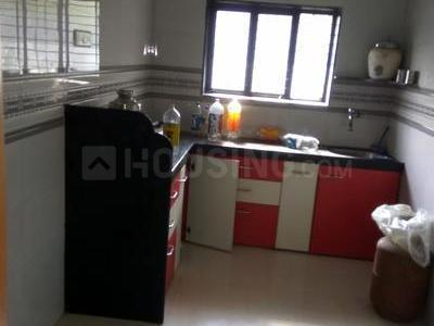 Kitchen Image of 580 Sq.ft 1 BHK Apartment for rent in Dombivli East for 10000