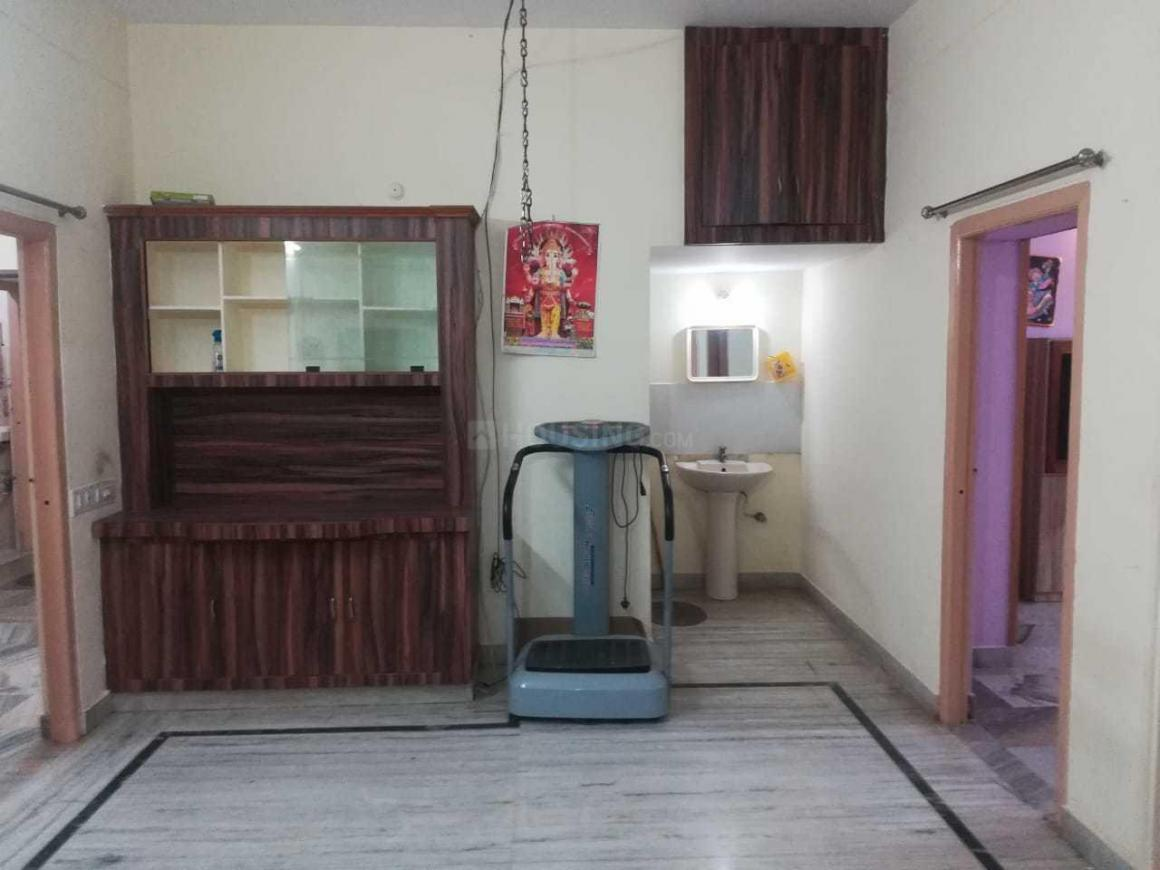 Living Room Image of 900 Sq.ft 1 BHK Apartment for rent in Kachiguda for 12000