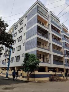 Gallery Cover Image of 1075 Sq.ft 2 BHK Apartment for buy in Ayatti Ashraya, Chikkalasandra for 5000000