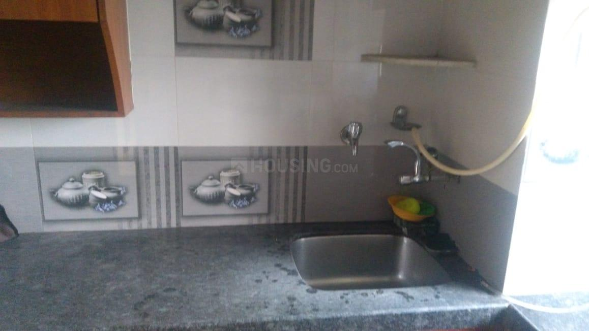 Kitchen Image of 570 Sq.ft 1 BHK Apartment for rent in Andheri East for 33000