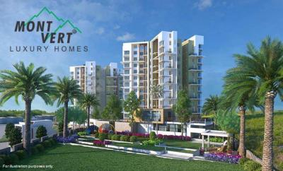 Gallery Cover Image of 950 Sq.ft 2 BHK Apartment for buy in Mont Vert Kingstown Sector 1 Residential Wings, Bhugaon for 5200000