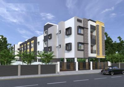 Gallery Cover Image of 820 Sq.ft 2 BHK Apartment for buy in Madipakkam for 4920000