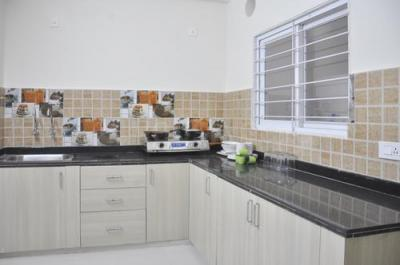 Kitchen Image of Flat No 506 Jubilee Cyber Grande in Madhapur