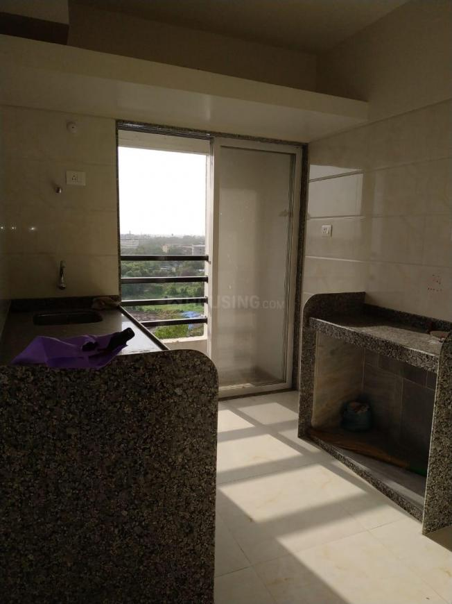 Kitchen Image of 670 Sq.ft 1 BHK Apartment for rent in Diva Gaon for 9000