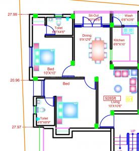 Gallery Cover Image of 917 Sq.ft 2 BHK Apartment for buy in Sekaran Lyrica Phase 2, Perumbakkam for 3851400