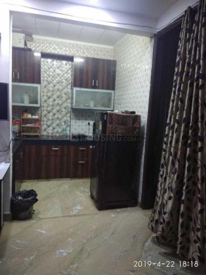 हरी नगर आश्रम में साई राम पीजी में किचन की तस्वीर