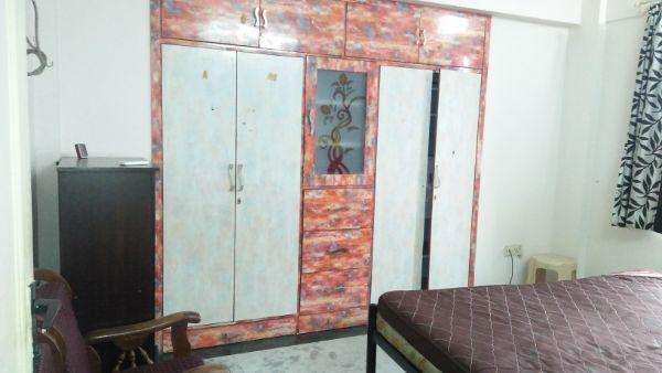 Bedroom Image of 600 Sq.ft 1 BHK Apartment for rent in Hiranandani Estate for 21000