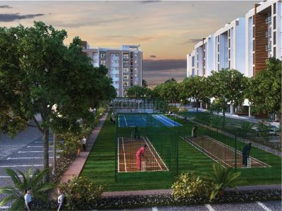 Gallery Cover Image of 1100 Sq.ft 2 BHK Apartment for buy in Joy at Shriram Temple Bells, Perumanttunallur for 3399000