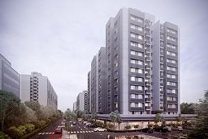 Gallery Cover Image of 1480 Sq.ft 3 BHK Apartment for buy in Saanvi Nirman Stella, Bopal for 6500000