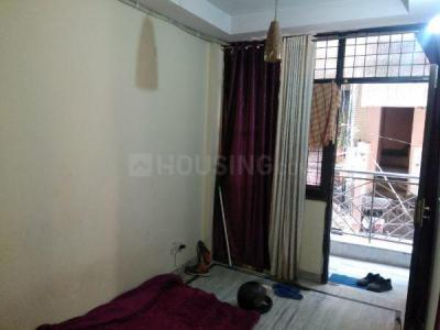 Gallery Cover Image of 500 Sq.ft 1 BHK Independent Floor for rent in Garhi for 13500