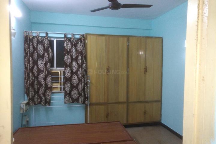 थिरुवान्मियूर में होमस्टे विद डब्ल्यूएफएच फेसिलिटीज के बेडरूम की तस्वीर