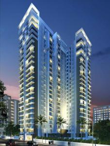 Gallery Cover Image of 934 Sq.ft 3 BHK Apartment for buy in Romell Diva Apartments, Malad West for 23300000