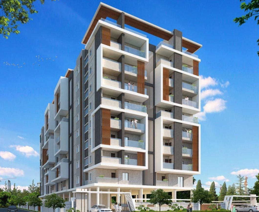 Building Image of 1214 Sq.ft 1 BHK Apartment for buy in Pragathi Nagar for 4249000