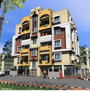 Gallery Cover Image of 1125 Sq.ft 2 BHK Apartment for buy in Jodhpur Park for 7312500