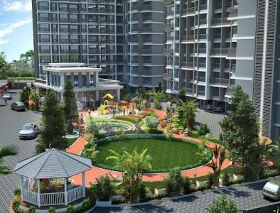 Gallery Cover Image of 615 Sq.ft 1 BHK Apartment for buy in Ashapura Neelkanth Shrushti, Kalyan West for 4100000