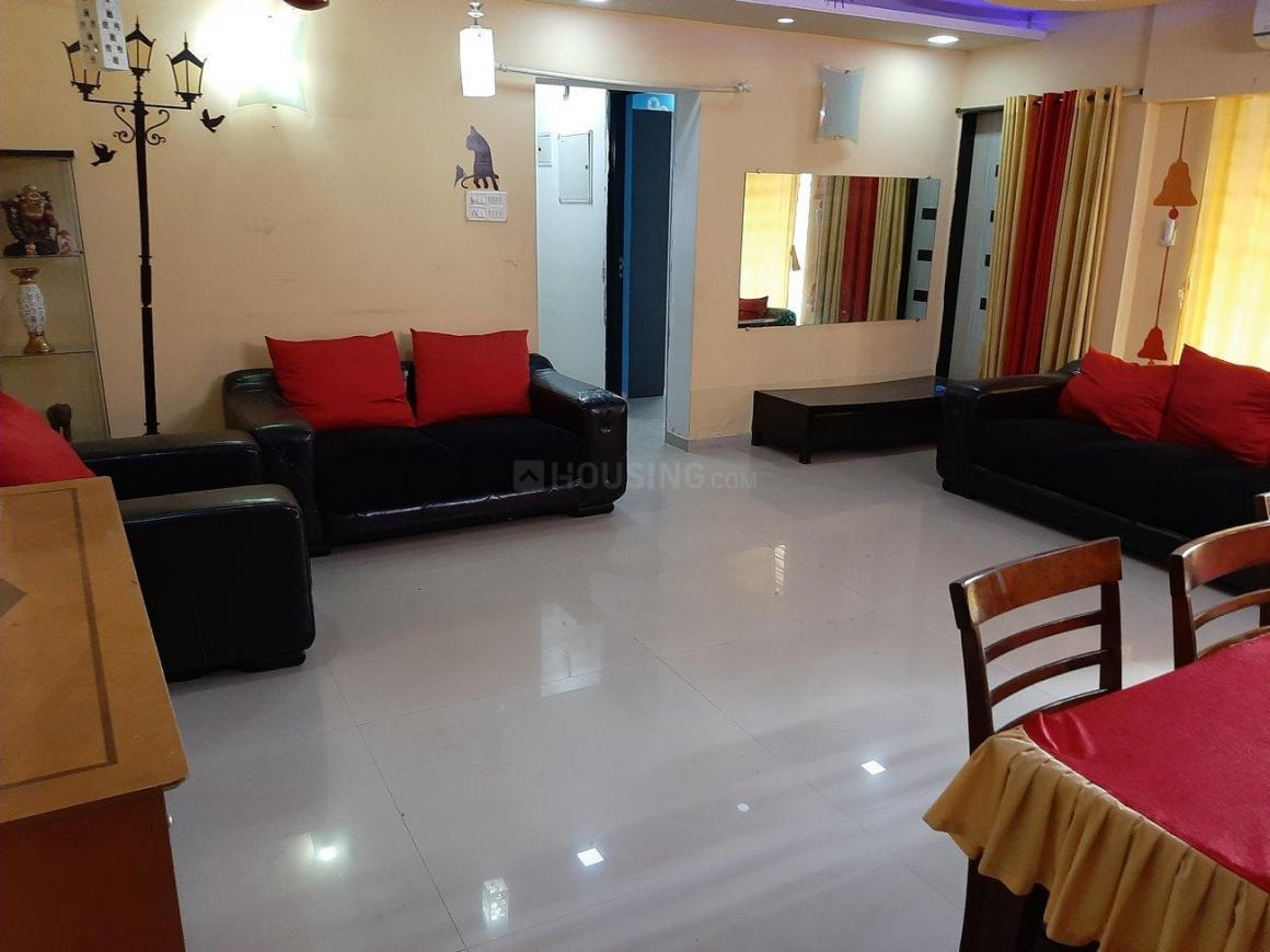 Living Room Image of 1250 Sq.ft 2 BHK Apartment for rent in Kandivali East for 40000