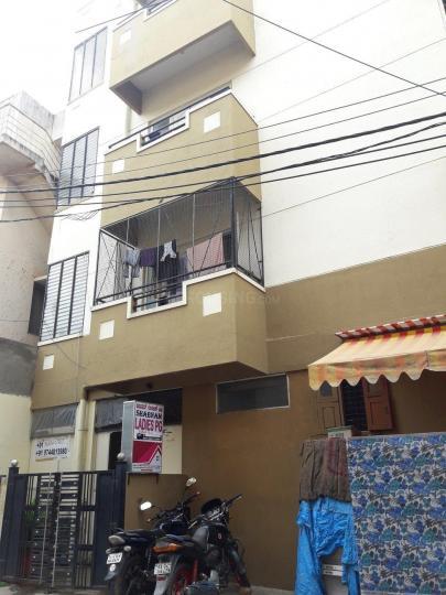 मठिकेरे में शबनम पीजी में बिल्डिंग की तस्वीर