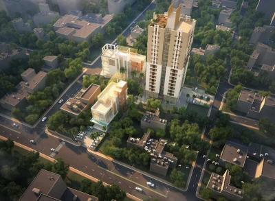 Gallery Cover Image of 1386 Sq.ft 3 BHK Apartment for buy in Signum Aristo, Maniktala for 15000000
