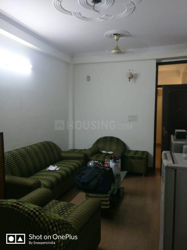 Living Room Image of 800 Sq.ft 2 BHK Independent Floor for rent in Sector 19 Dwarka for 16000