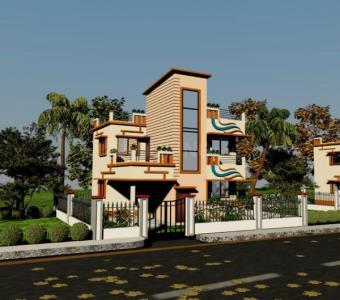 Gallery Cover Image of 1500 Sq.ft 4 BHK Villa for buy in Raspunja City, Joka for 3100000