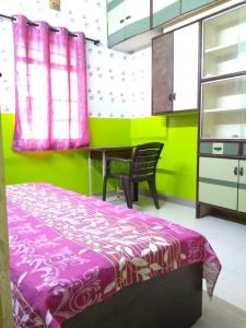 Bedroom Image of Mshadev PG in Gokhalenagar