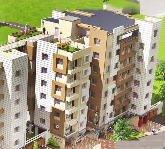 Gallery Cover Image of 956 Sq.ft 2 BHK Apartment for buy in Orchid Gangour Residency, Keshtopur for 3200001