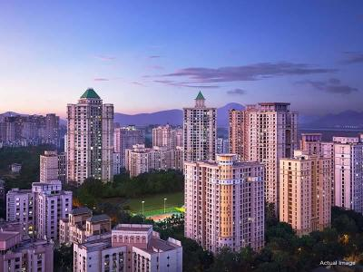 Gallery Cover Image of 1650 Sq.ft 3 BHK Apartment for buy in Hiranandani Rodas Enclave, Hiranandani Estate for 25500000