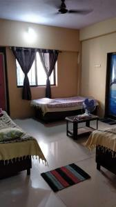 Bedroom Image of Rs PG in Kopar Khairane