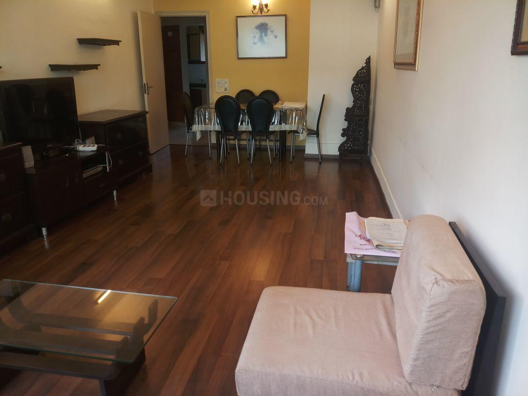 Living Room Image of 1000 Sq.ft 2 BHK Apartment for rent in Bandra West for 135000