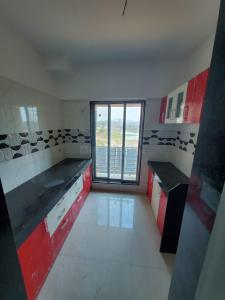 Kitchen Image of 740 Sq.ft 1 BHK Apartment for buy in Global Prestige Wing E, Vasai East for 3483000