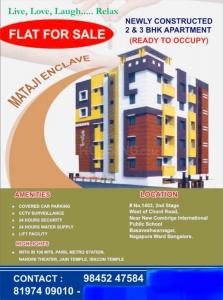 Gallery Cover Image of 1188 Sq.ft 3 BHK Apartment for buy in Mataji Enclave , Basaveshwara Nagar for 8500000