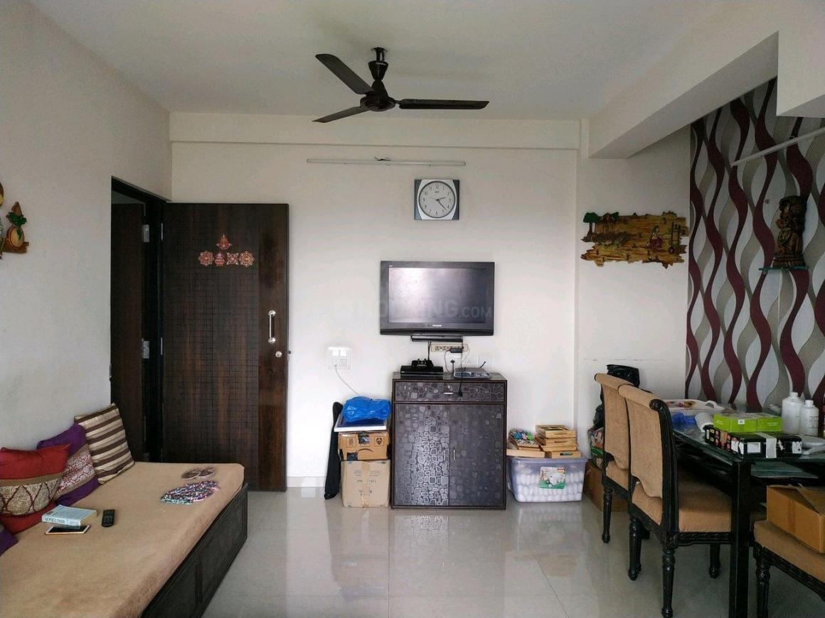 Living Room Image of 600 Sq.ft 1 BHK Apartment for buy in Malad West for 10700000