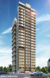 Gallery Cover Image of 611 Sq.ft 2 BHK Apartment for buy in Romell Empress, Borivali West for 15400000