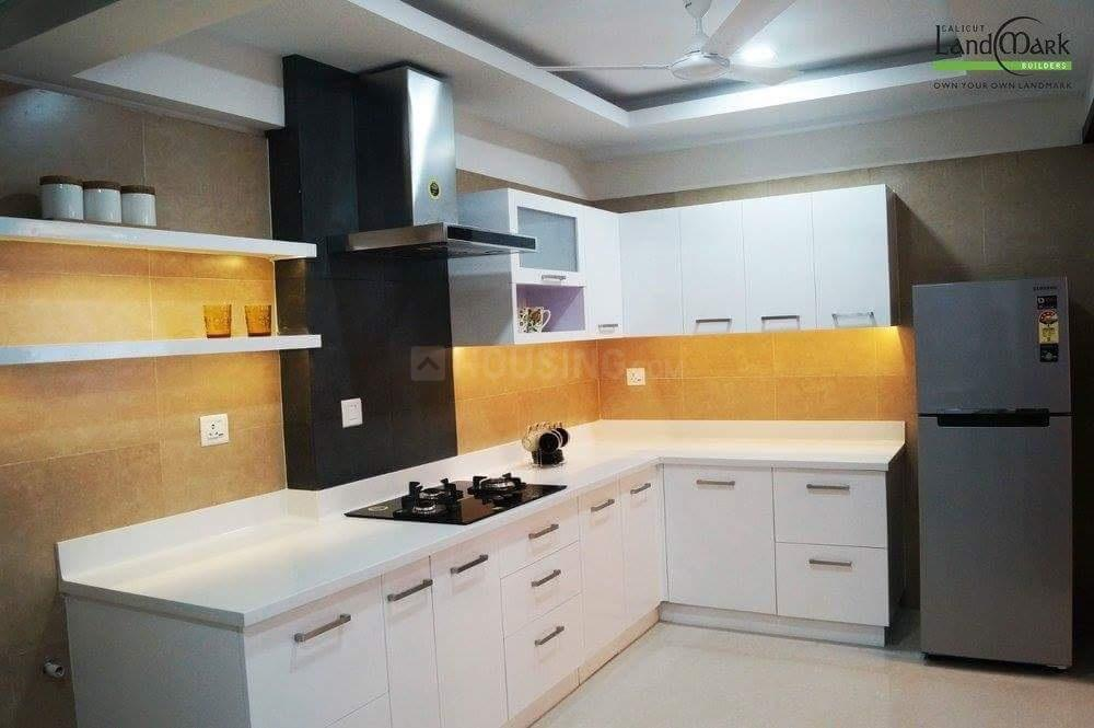 Kitchen Image of 1402 Sq.ft 1 BHK Apartment for buy in Thondayad for 5500000