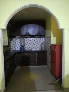 Kitchen Image of Sanoj PG in Chhattarpur