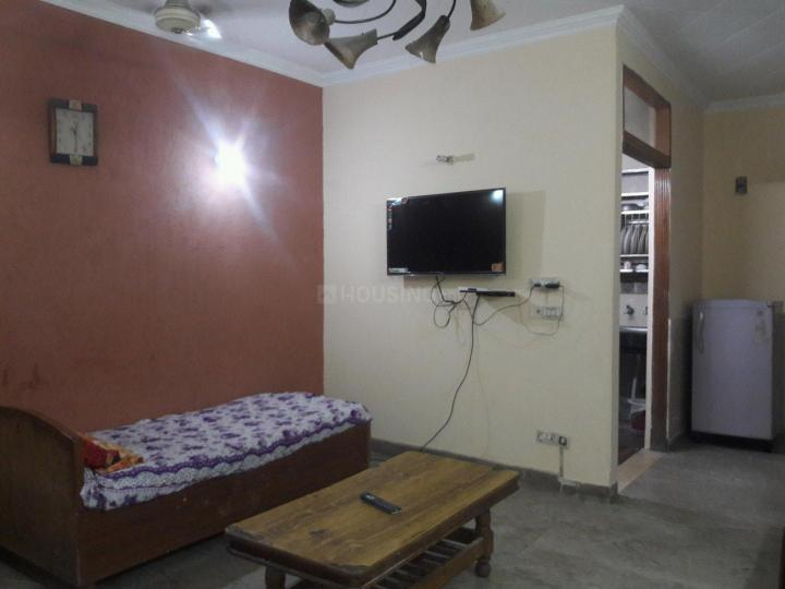 Living Room Image of 900 Sq.ft 2 BHK Independent Floor for rent in Lajpat Nagar for 32000