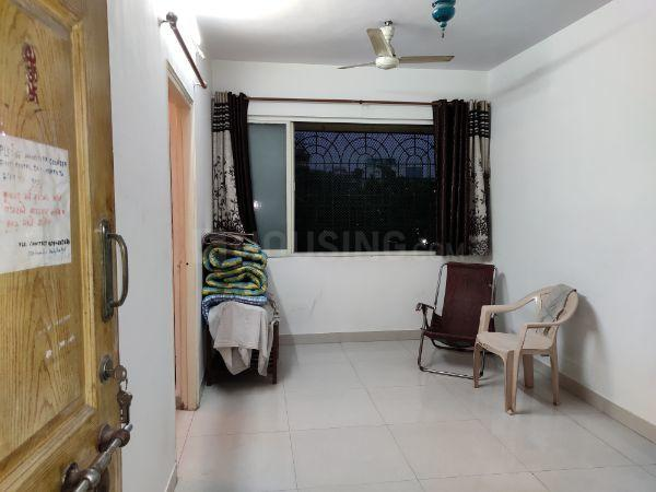 Living Room Image of 585 Sq.ft 1 BHK Apartment for rent in Thane West for 21000