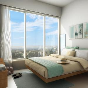 Gallery Cover Image of 700 Sq.ft 1 BHK Apartment for buy in Mulund West for 9800000
