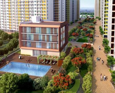 Gallery Cover Image of 353 Sq.ft 1 BHK Apartment for buy in Padur for 1677032