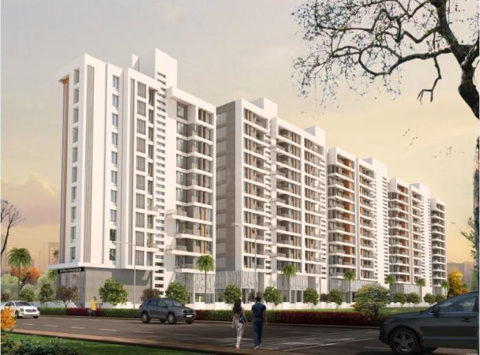 Building Image of 911 Sq.ft 2 BHK Apartment for buy in Wakad for 6446000