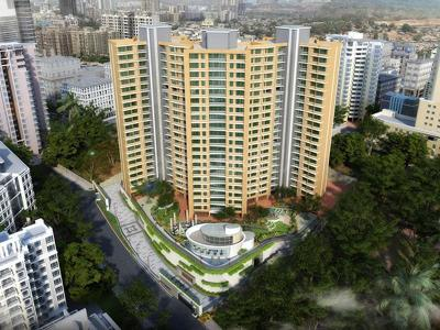 Gallery Cover Image of 1235 Sq.ft 2 BHK Apartment for buy in Lucent Fressia Ranibello, Malad East for 14000000