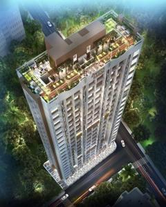 Gallery Cover Image of 501 Sq.ft 1 BHK Apartment for buy in Swastik Emerald, Vikhroli East for 8200000