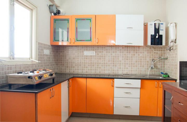 Kitchen Image of Rajatha Greens Apartment B-502 in HBR Layout