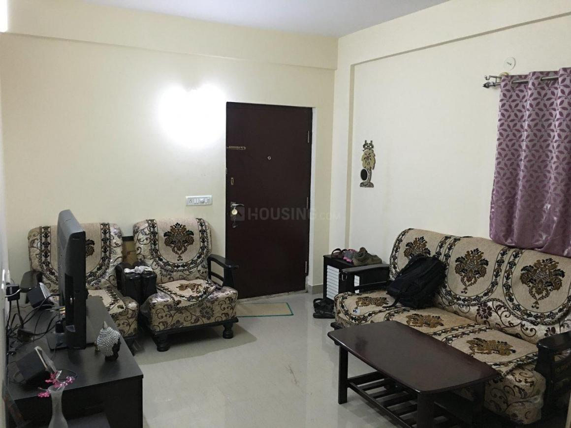 Living Room Image of 1200 Sq.ft 2 BHK Apartment for rent in Basapura for 20000
