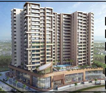 Gallery Cover Image of 2200 Sq.ft 4 BHK Apartment for buy in Bharat Skyvistas Bluez, Andheri West for 74000000