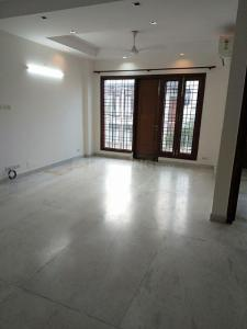 Gallery Cover Image of 1400 Sq.ft 3 BHK Independent Floor for rent in Saket RWA, Saket for 55000