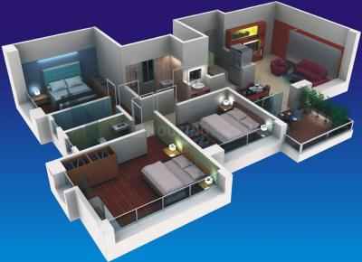 Gallery Cover Image of 1070 Sq.ft 2 BHK Apartment for buy in Rama Costa Rica, Wakad for 6800000
